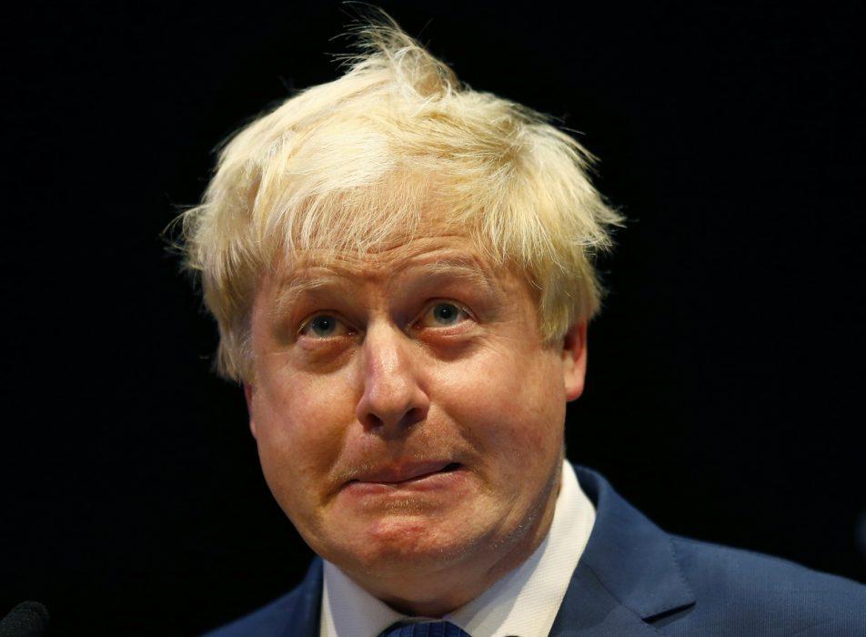London Mayor Boris Johnson Presents Visiting Dignitaries With Cheeky Dab Of Mandy