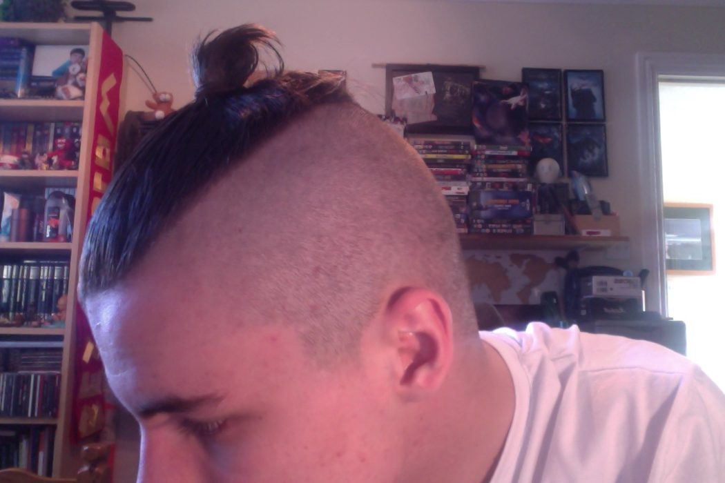 Cull Of Topknot Hairstyle