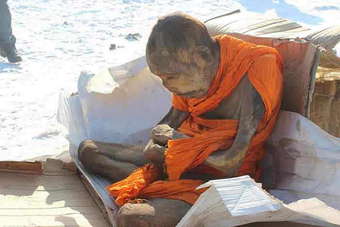 Mummified Monk Ketamine Mongolia Songino Khairkhan Province Buddhist Wunderground