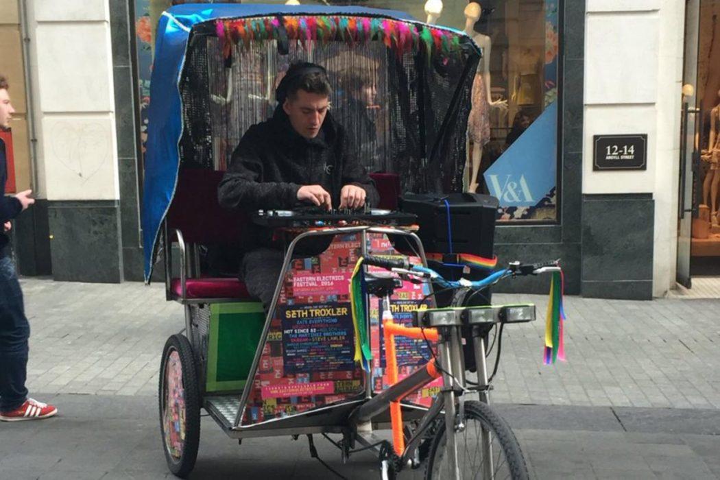 skream rickshaw strange places