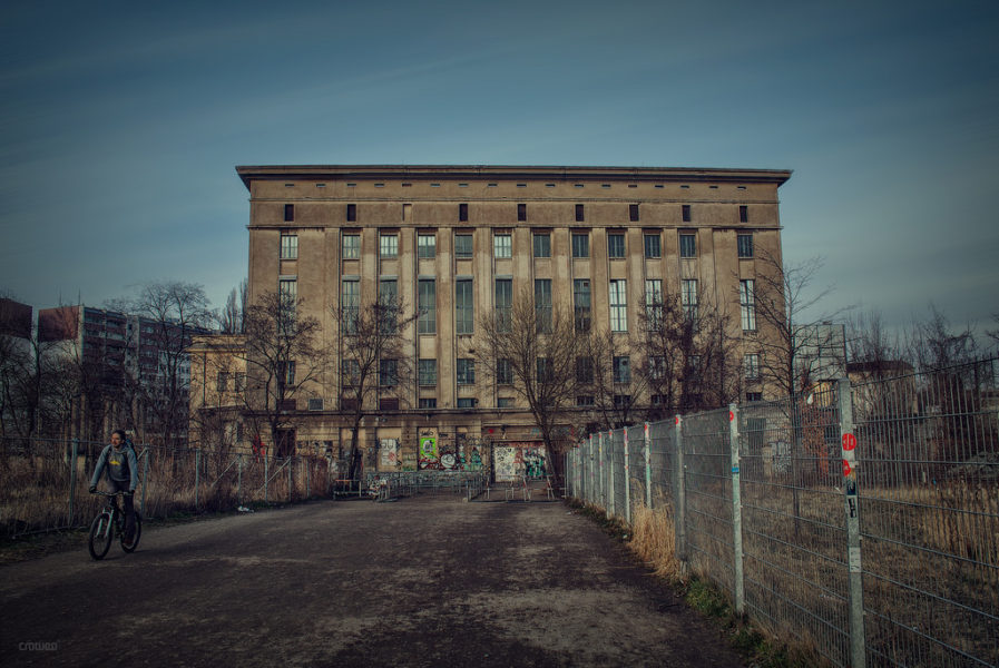 Berghain totally fucking mental
