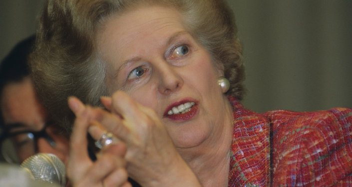 Margaret Thatcher Ghost Acid Trips