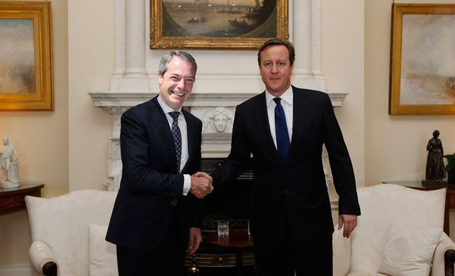 Farage & Cameron Halvies