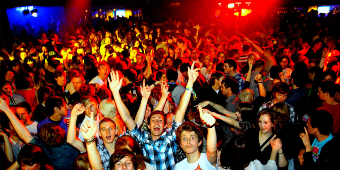 Clubbers Confirm Pills Are A Right Laugh