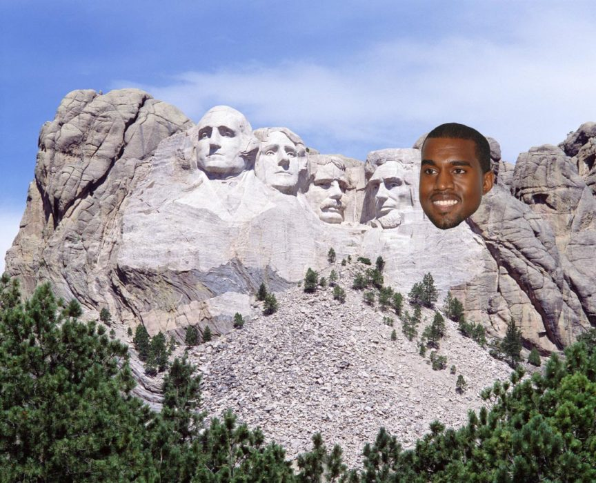Kanye West Launches Petition To Have Face Added To Mount