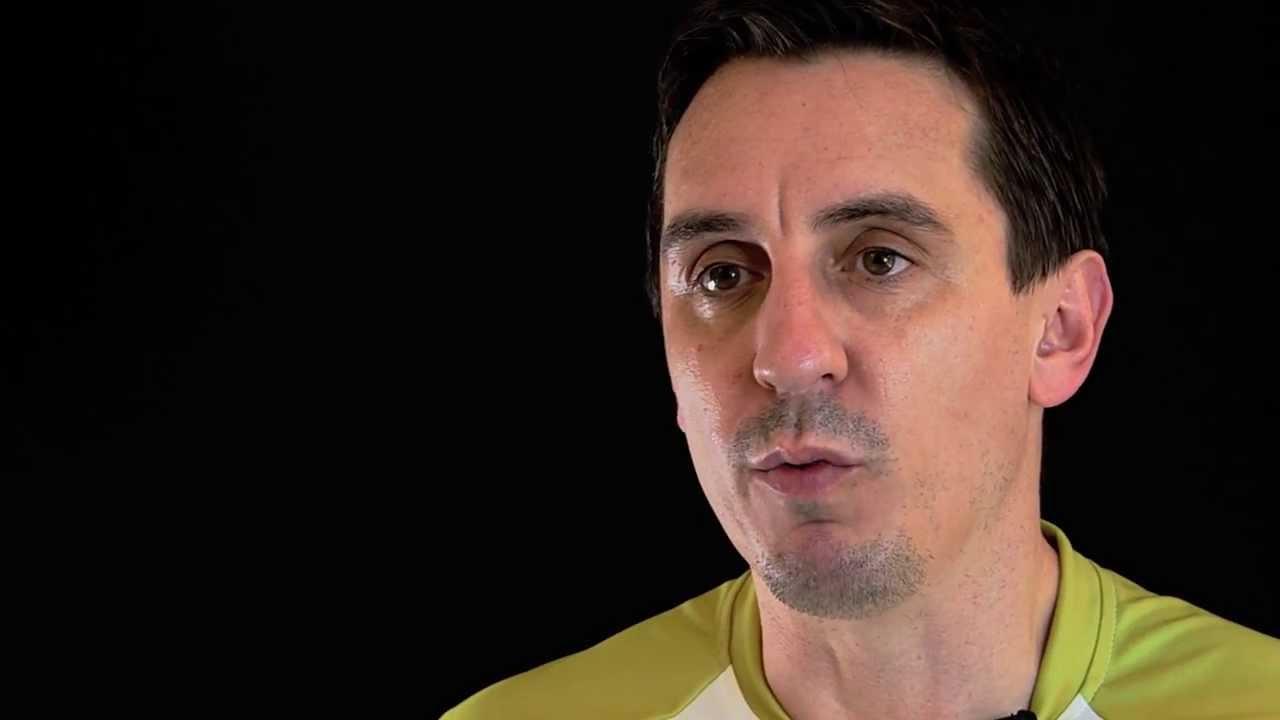 Neville Footballer Pops Garys
