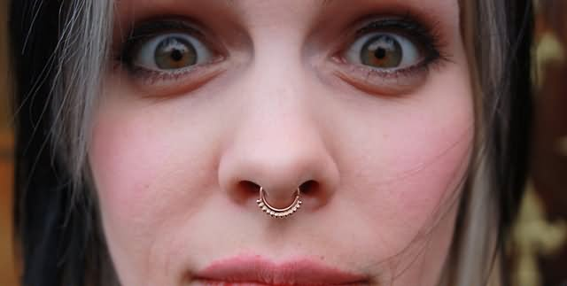 Bindi S Were A Cringy Fad Claims Girl With Fake Septum Piercing