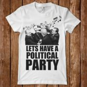 political party tshirt