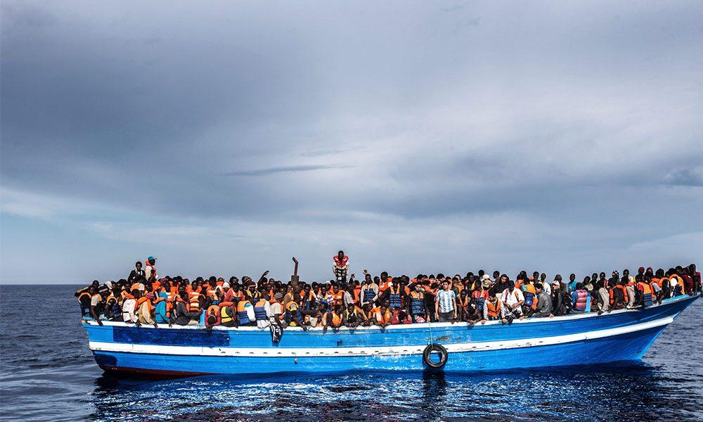 syria boat party satire
