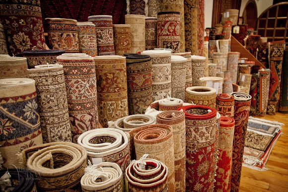Carpet Factory Destroyed In The War On Rugs