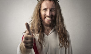 Man who thinks he is Jesus