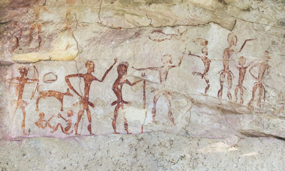 Ancient carvings discovered in cave prove dubstep is shite