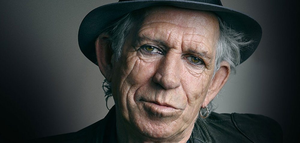 Keith Richards found covered in moss