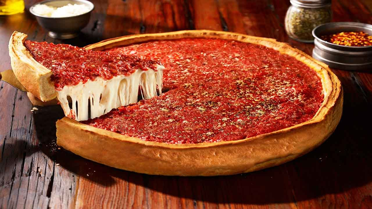 Deep Dish New Album is actually a pizza