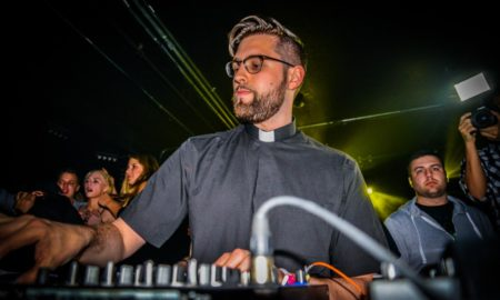 Techno Djs and Priests are not impossible to tell apart