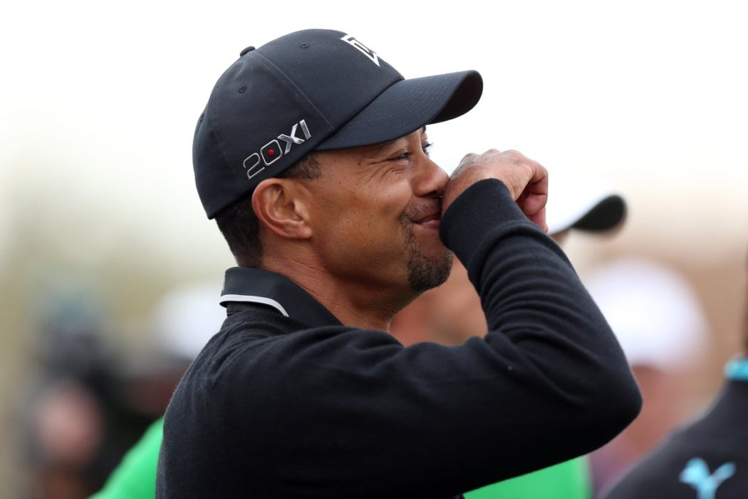 Tiger Woods likes to smoke weed now